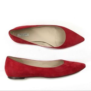 Cole Haan Hadley Pointed Toe Skimmer Flat 10.5 M
